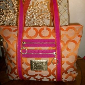Coach large Tote Shopper Shoulder  Handbag